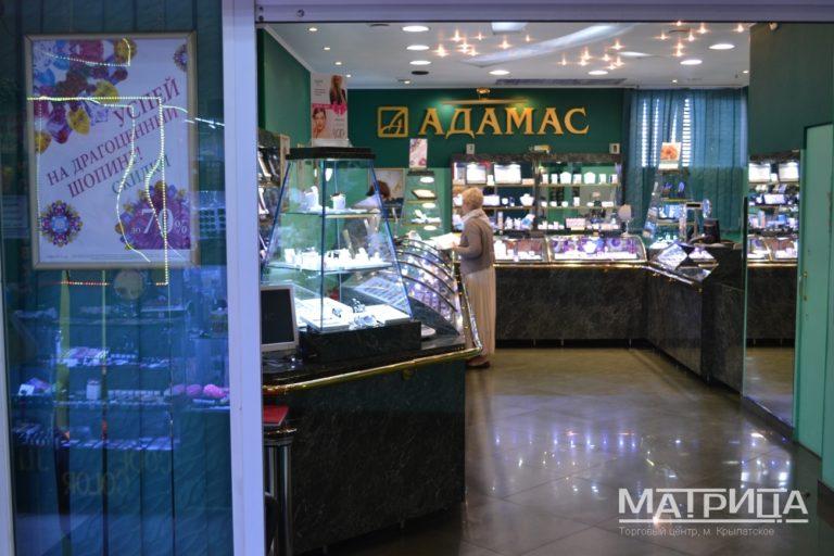 ТЦ Матрица фасад помещения внутри Адамас
